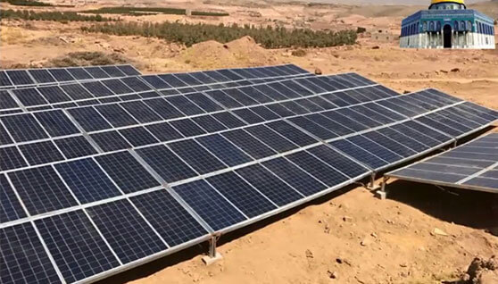 Pumping inverter - 55KW solar pumping inverter in Yemen
