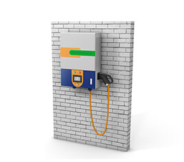 CSW series: wall mounted type:7KW, 15K, 30K - Wall-mounted DC charger